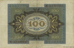 100 Mark ALLEMAGNE  1920 P.069a TTB