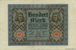 100 Mark ALLEMAGNE  1920 P.069a SUP
