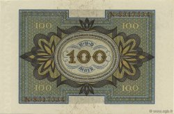 100 Mark ALLEMAGNE  1920 P.069a pr.NEUF