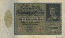 10000 Mark ALLEMAGNE  1922 P.070 SUP