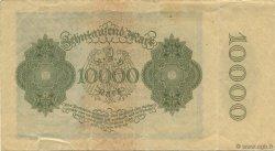 10000 Mark ALLEMAGNE  1922 P.072 TTB