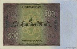 500 Mark ALLEMAGNE  1922 P.073 pr.NEUF