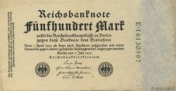 500 Mark ALLEMAGNE  1922 P.074c SUP+