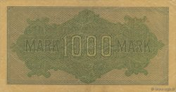 1000 Mark ALLEMAGNE  1922 P.076b TTB