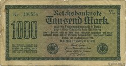 1000 Mark ALLEMAGNE  1922 P.076e TB