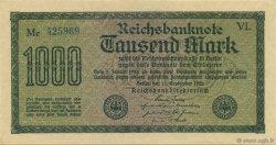 1000 Mark ALLEMAGNE  1922 P.076e SPL
