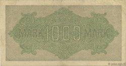 1000 Mark ALLEMAGNE  1922 P.076f TTB