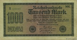 1000 Mark  GERMANY  1922 P.076h