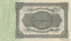 50000 Mark ALLEMAGNE  1922 P.079 pr.NEUF