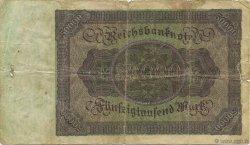 50000 Mark ALLEMAGNE  1922 P.080 B