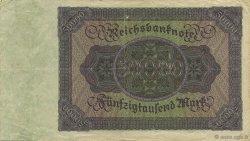 50000 Mark ALLEMAGNE  1922 P.080 TTB+