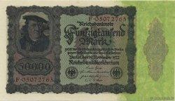 50000 Mark ALLEMAGNE  1922 P.080 SPL