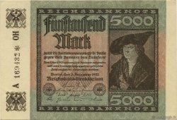 5000 Mark ALLEMAGNE  1922 P.081b pr.NEUF