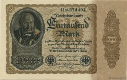 1000 Mark ALLEMAGNE  1922 P.082a SPL+