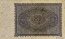 100000 Mark ALLEMAGNE  1923 P.083a TTB