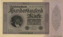 100000 Mark  ALLEMAGNE  1923 P.083a