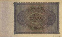 100000 Mark ALLEMAGNE  1923 P.083a SPL