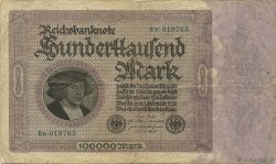 100000 Mark ALLEMAGNE  1923 P.083a TB+