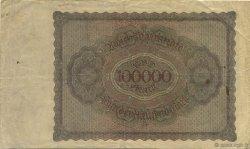 100000 Mark ALLEMAGNE  1923 P.083c TTB