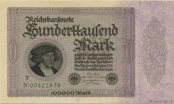 100000 Mark ALLEMAGNE  1923 P.083c pr.NEUF