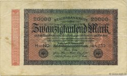 20000 Mark ALLEMAGNE  1923 P.085a TB+