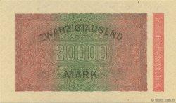20000 Mark ALLEMAGNE  1923 P.085c pr.NEUF