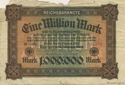 1 Million Mark ALLEMAGNE  1923 P.086a AB
