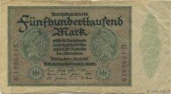 500000 Mark ALLEMAGNE  1923 P.088b B+