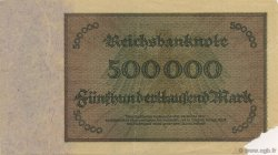 500000 Mark GERMANY  1923 P.088b VF+