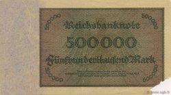 500000 Mark ALLEMAGNE  1923 P.088b TTB+