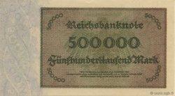 500000 Mark ALLEMAGNE  1923 P.088b pr.NEUF
