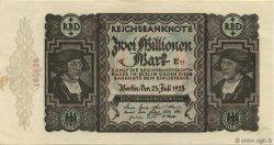 2 Millions Mark ALLEMAGNE  1923 P.089a SPL