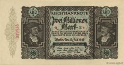 2 Millions Mark ALLEMAGNE  1923 P.089a pr.NEUF