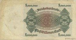 5 Millions Mark ALLEMAGNE  1923 P.090 TTB