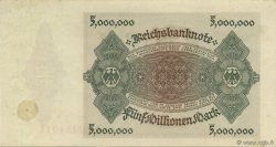 5 Millions Mark ALLEMAGNE  1923 P.090 SUP