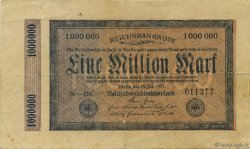 1 Million Mark ALLEMAGNE  1923 P.093 TB+