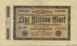 1 Million Mark ALLEMAGNE  1923 P.093 TTB