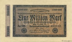 1 Million Mark ALLEMAGNE  1923 P.093 SPL