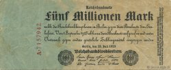 5 Millions Mark ALLEMAGNE  1923 P.095 TB+