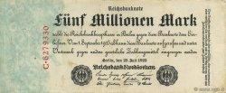 5 Millions Mark ALLEMAGNE  1923 P.095 SUP