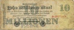 10 Millions Mark ALLEMAGNE  1923 P.096 TB