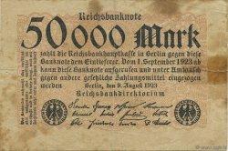 50000 Mark ALLEMAGNE  1923 P.099 TB