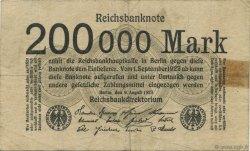 200000 Mark ALLEMAGNE  1923 P.100 TB