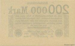 200000 Mark ALLEMAGNE  1923 P.100 pr.NEUF