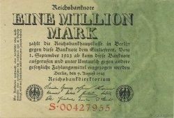 1 Million Mark ALLEMAGNE  1923 P.101 SUP