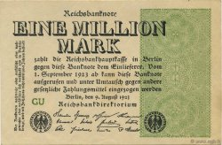 1 Million Mark ALLEMAGNE  1923 P.102c SPL