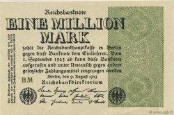 1 Million Mark ALLEMAGNE  1923 P.102d pr.NEUF