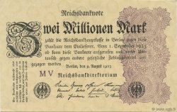 2 Millions Mark ALLEMAGNE  1923 P.104b SPL