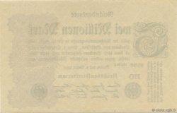 2 Millions Mark ALLEMAGNE  1923 P.104c SPL