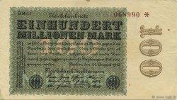 100 Millions Mark ALLEMAGNE  1923 P.107d